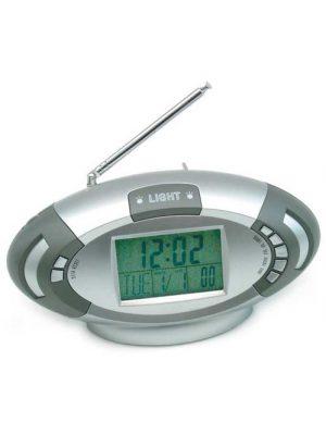 Zegar wielofunkcyjny z termometrem i radiem FM