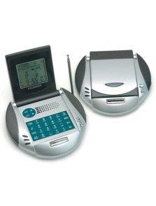 Kalkulator z zegarem wielofunkcyjnym i radiem