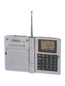 Kalkulator z wielofunkcyjnym zegarem i radiem FM